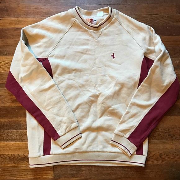 956a5b708b Fila Other - Vintage Fila x Ferrari Crewneck Pullover Sweater